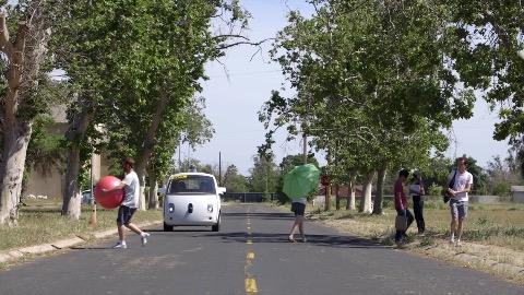 Googles autonomes Auto (Herstellervideo)