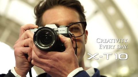 Fujifilm X-T10 (Herstellervideo)