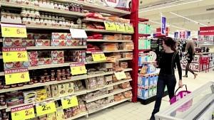 Philips LED-Indoor-Navigation im Supermarkt