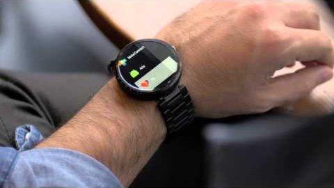 Aria Gestensteuerung für Smartwatch