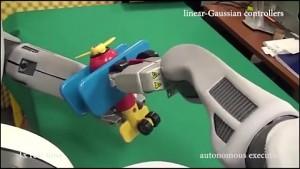 Roboter BRETT lernt Objekte autonom zusammenzubauen