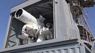 Test einer Laserkanone - US-Marine