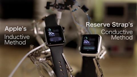 Laden der Apple Watch über geheimen Port (Herstellervideo)