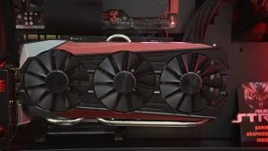Asus Geforce 980 Ti Strix angesehen (Computex 2015)