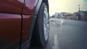 Schlaglocherkennung von Jaguar Land Rover (Herstellervideo)