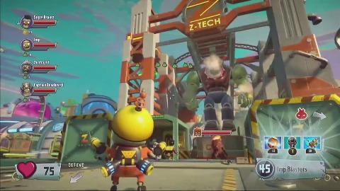 Plants vs. Zombies Garden Warfare 2 - Gameplay (E3 2015)
