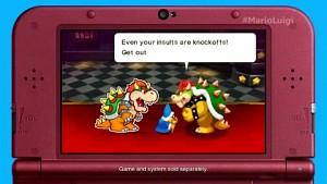 Mario Luigi Paper Jam - Gameplay (E3 2015)