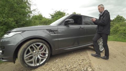 Smartphone-Fernsteuerung für Land Rover - Trailer