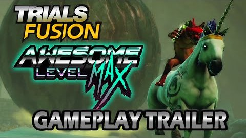 Trials Fusion Awesome Level Max - Trailer (Gameplay)