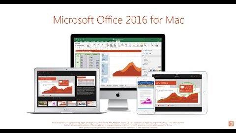 Office 2016 für den Mac