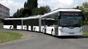 Autotram mit Kondensator (Quelle Fraunhofer IVI)