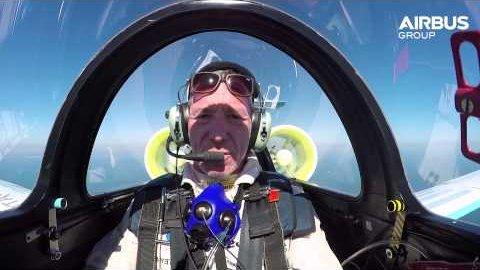 E-Fan fliegt über den Ärmelkanal - Airbus