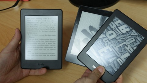 Kindle Paperwhite (2015) Test