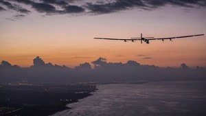 Si2 landet auf Hawaii - Solar Impulse