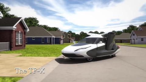 Terrafugia TF-X (Herstellervideo)