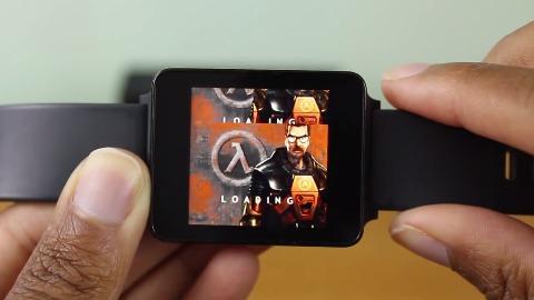 Half-Life auf einer Android-Wear-Smartwatch