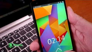 KDE Plasma auf einem Smartphone