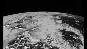 Virtueller Überflug über den Pluto