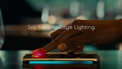 Samsung Galaxy Edge - Lighting-Herstellervideo