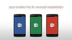 Microsoft Office für Android Smartphone - Herstellervideo