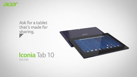 Acer Iconia Tab 10 - Herstellervideo