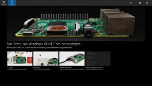 Windows 10 IoT auf dem Raspberry Pi 2 ausprobiert