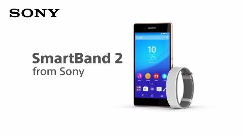 Sony Smartband 2 (Herstellervideo)