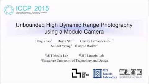 Modulo-Kamera - MIT
