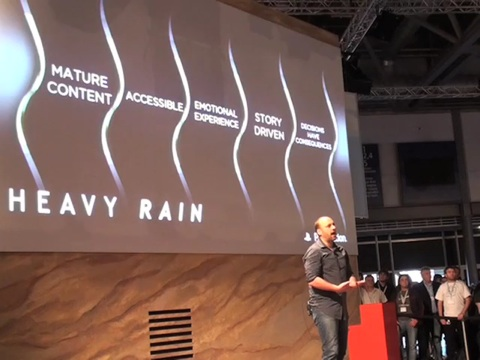 Heavy Rain - GC08-Ankündigung
