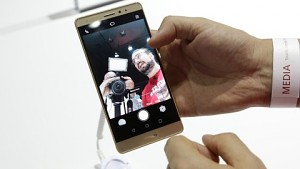 Huawei Mate S - Hands on (Ifa 2015)