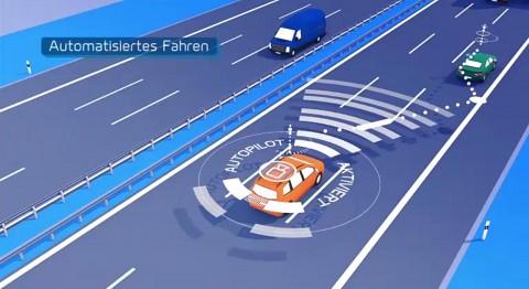 Digitales Testfeld Autobahn Video Golem De
