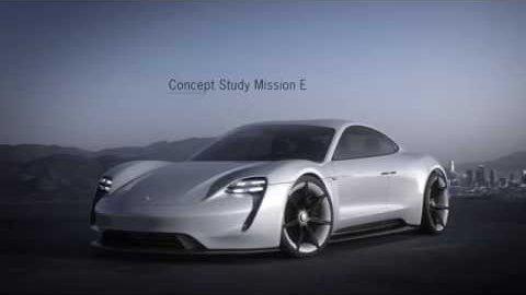 Konzeptauto Mission E - Porsche