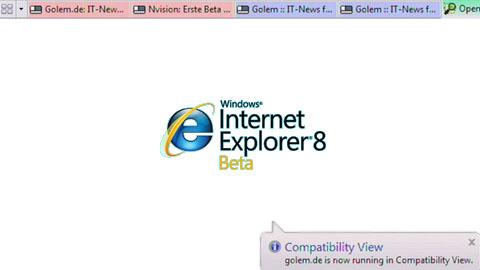 Internet Explorer 8 Beta 2 - Test