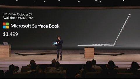 Microsoft Surface Book - Vorstellung