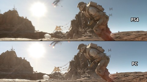 Star-Wars-Battlefront-Beta - Grafikvergleich (PS4 vs. PC)