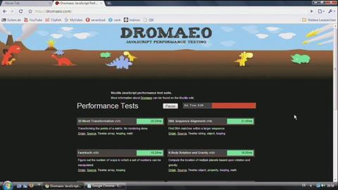 Google Chrome - Performance-Test