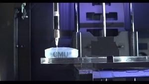 Gewebe drucken mit dem Makerbot