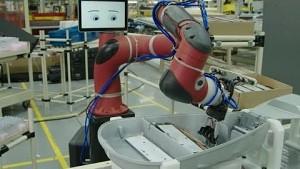 Roboter Sawyer im Einsatz - Rethink Robotics
