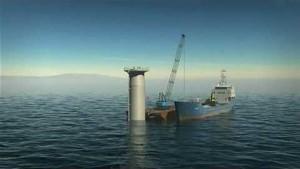 Schwimmende Windkraftanlage - Statoil