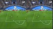 3D-Video eines Fußballspiels aus einem 2D-Video