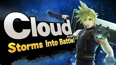 Cloud Strife aus FF7 in Super Smash Bros - Trailer