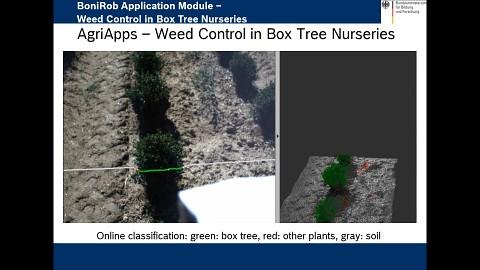 Agrarroboter Bonirob - Deepfield Robotics