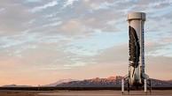 Aufrechte Landung einer Raketenstufe - Blue Origin