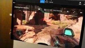 Hololens - Streaming Halo 5 von der Xbox One