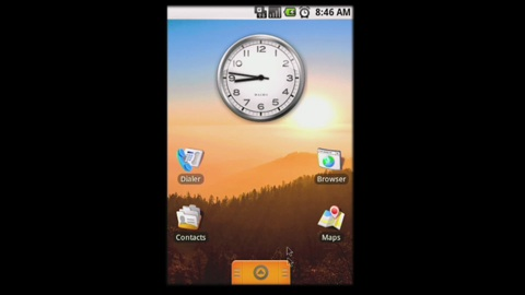 Google Android - Impressionen aus dem SDK