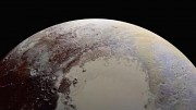 Oberfläche des Zwergplaneten Pluto - Nasa