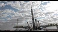 Startvorbereitung eines Sojus-Raumschiffs - Esa