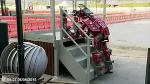 Impressionen von der Robotics Challenge - Darpa