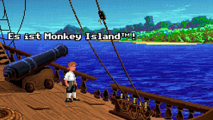 The Secret of Monkey Island (1990) - Golem retro