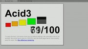 Webkit Nighty Build - Acid3-Test